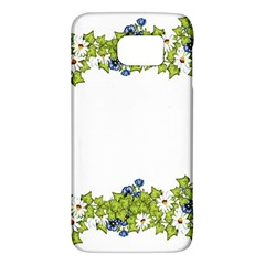 Birthday Card Flowers Daisies Ivy Galaxy S6 by Nexatart