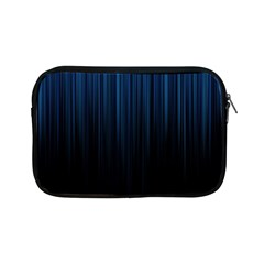 Black Blue Line Vertical Space Sky Apple Ipad Mini Zipper Cases by Mariart