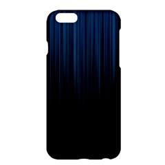 Black Blue Line Vertical Space Sky Apple Iphone 6 Plus/6s Plus Hardshell Case by Mariart