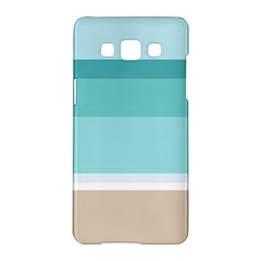 Dachis Beach Line Blue Water Samsung Galaxy A5 Hardshell Case  by Mariart