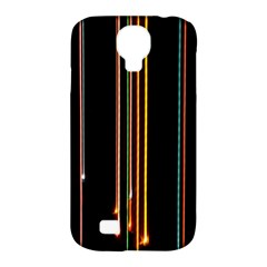 Fallen Christmas Lights And Light Trails Samsung Galaxy S4 Classic Hardshell Case (pc+silicone) by Mariart
