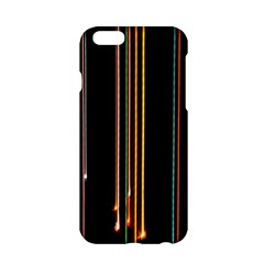 Fallen Christmas Lights And Light Trails Apple Iphone 6/6s Hardshell Case by Mariart