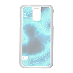 Blue Patterned Aurora Space Samsung Galaxy S5 Case (white) by Mariart