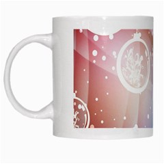 Christmas White Mugs by Mariart
