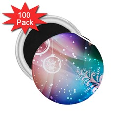 Christmas 2 25  Magnets (100 Pack)  by Mariart