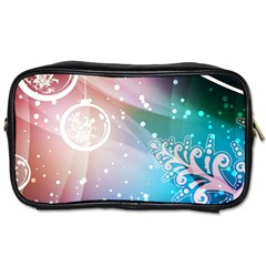 Christmas Toiletries Bags by Mariart