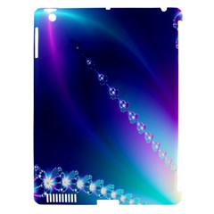 Flow Blue Pink High Definition Apple Ipad 3/4 Hardshell Case (compatible With Smart Cover) by Mariart