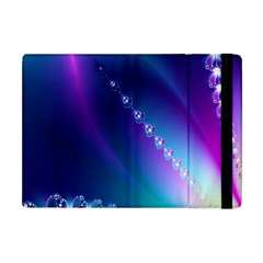 Flow Blue Pink High Definition Apple Ipad Mini Flip Case by Mariart
