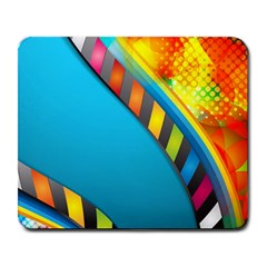 Color Dream Polka Large Mousepads by Mariart