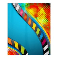 Color Dream Polka Shower Curtain 60  X 72  (medium)  by Mariart