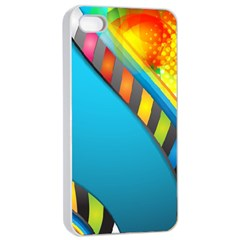 Color Dream Polka Apple Iphone 4/4s Seamless Case (white) by Mariart