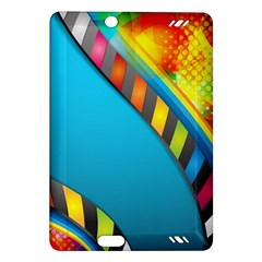 Color Dream Polka Amazon Kindle Fire Hd (2013) Hardshell Case by Mariart