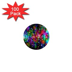 Colorful Bubble Shining Soap Rainbow 1  Mini Magnets (100 Pack)  by Mariart