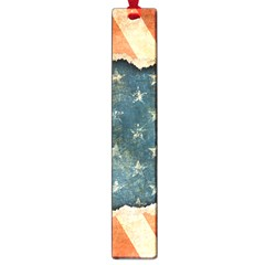 Grunge Ripped Paper Usa Flag Large Book Marks by Mariart