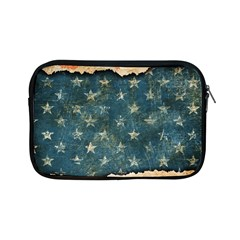 Grunge Ripped Paper Usa Flag Apple Ipad Mini Zipper Cases by Mariart