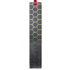 Hexagons Honeycomb Large Book Marks by Mariart