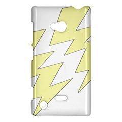 Lightning Yellow Nokia Lumia 720 by Mariart