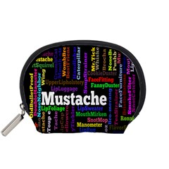 Mustache Accessory Pouches (small)  by Mariart