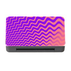 Original Resolution Wave Waves Chevron Pink Purple Memory Card Reader With Cf by Mariart
