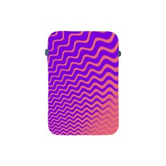 Original Resolution Wave Waves Chevron Pink Purple Apple Ipad Mini Protective Soft Cases by Mariart