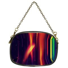 Perfection Graphic Colorful Lines Chain Purses (one Side)  by Mariart