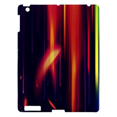 Perfection Graphic Colorful Lines Apple Ipad 3/4 Hardshell Case by Mariart