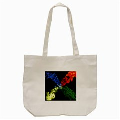 Perfect Amoled Screens Fire Water Leaf Sun Tote Bag (cream) by Mariart