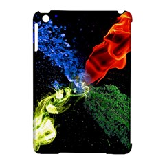 Perfect Amoled Screens Fire Water Leaf Sun Apple Ipad Mini Hardshell Case (compatible With Smart Cover) by Mariart