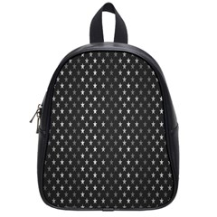Rabstol Net Black White Space Light School Bags (small)  by Mariart