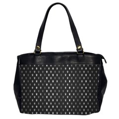 Rabstol Net Black White Space Light Office Handbags (2 Sides)  by Mariart