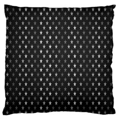Rabstol Net Black White Space Light Large Cushion Case (two Sides) by Mariart