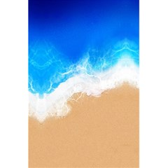 Sand Beach Water Sea Blue Brown Waves Wave 5 5  X 8 5  Notebooks by Mariart