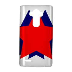 Stars Red Blue Lg G4 Hardshell Case by Mariart