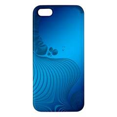 Fractals Lines Wave Pattern Iphone 5s/ Se Premium Hardshell Case by Nexatart