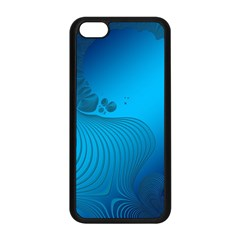 Fractals Lines Wave Pattern Apple Iphone 5c Seamless Case (black) by Nexatart