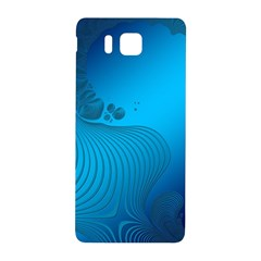 Fractals Lines Wave Pattern Samsung Galaxy Alpha Hardshell Back Case by Nexatart