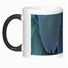 Feather Plumage Blue Parrot Morph Mugs by Nexatart