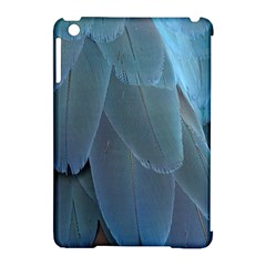 Feather Plumage Blue Parrot Apple Ipad Mini Hardshell Case (compatible With Smart Cover) by Nexatart