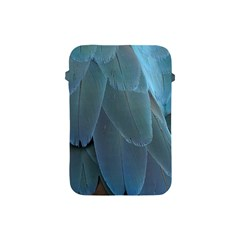 Feather Plumage Blue Parrot Apple Ipad Mini Protective Soft Cases by Nexatart