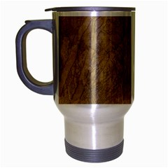 Abstract Forest Trees Age Aging Travel Mug (silver Gray) by Nexatart