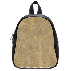 Abstract Forest Trees Age Aging School Bags (small)  by Nexatart