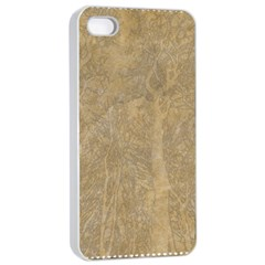 Abstract Forest Trees Age Aging Apple Iphone 4/4s Seamless Case (white) by Nexatart