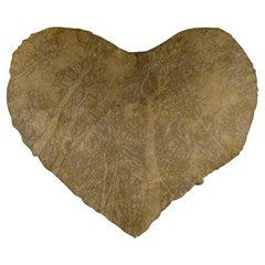 Abstract Forest Trees Age Aging Large 19  Premium Heart Shape Cushions