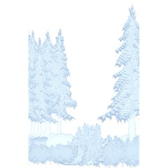 Winter Snow Trees Forest 5 5  X 8 5  Notebooks by Nexatart