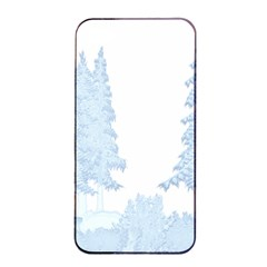 Winter Snow Trees Forest Apple Iphone 4/4s Seamless Case (black) by Nexatart