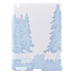 Winter Snow Trees Forest Apple Ipad 3/4 Hardshell Case (compatible With Smart Cover) by Nexatart