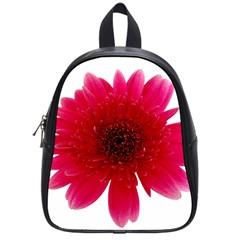 Flower Isolated Transparent Blossom School Bags (small)  by Nexatart
