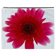 Flower Isolated Transparent Blossom Cosmetic Bag (XXXL)