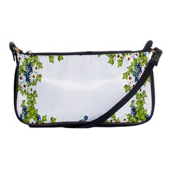 Birthday Card Flowers Daisies Ivy Shoulder Clutch Bags by Nexatart