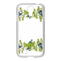Birthday Card Flowers Daisies Ivy Samsung Galaxy S4 I9500/ I9505 Case (white) by Nexatart